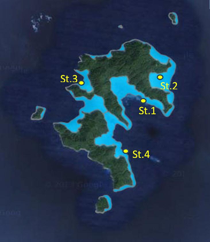 แนวปะการัง 4 แห่ง ที่เกาะสุรินทร์